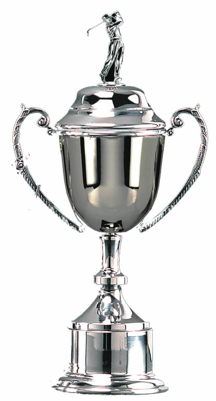 conquest golfer cup golf trophy bt338  £94.99