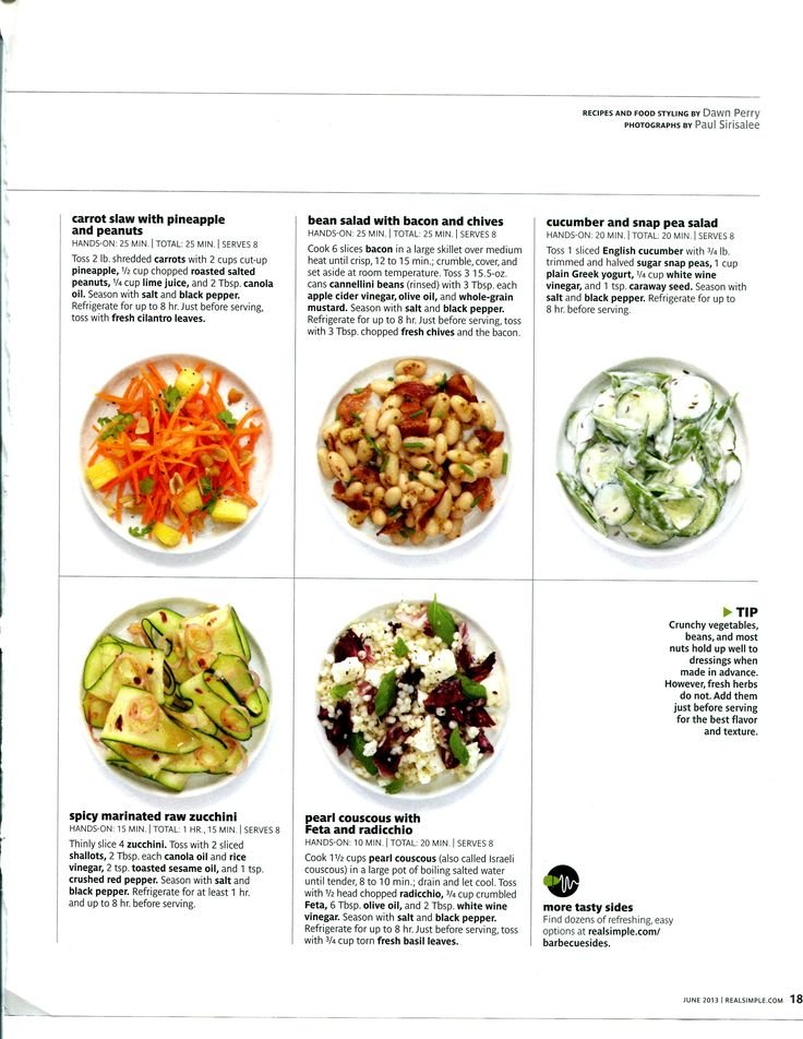 Barbeque sides - Realsimple - part 2