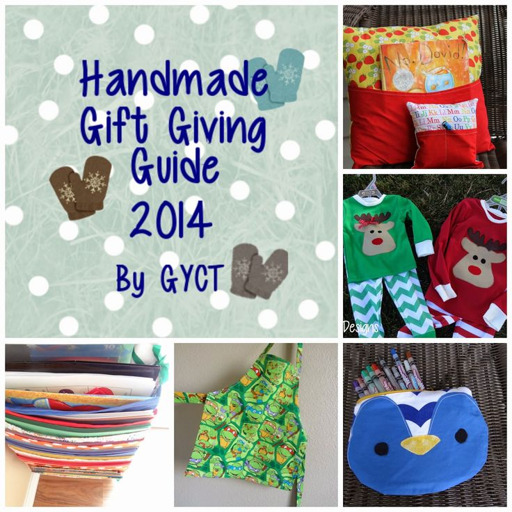 Get Your Crap Together: Handmade Gift Giving Guide 2014