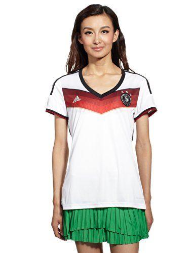 adidas Damen Shirt DFB Fanshop Deutschland Trikot Home, Weiß, L, G76478 | Your #1 Source for Sporting Goods & Outdoor Equipment
