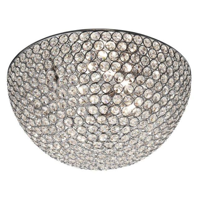 CHANTILLY - stropné svetlo s krištáľovým sklom - ø 350mm