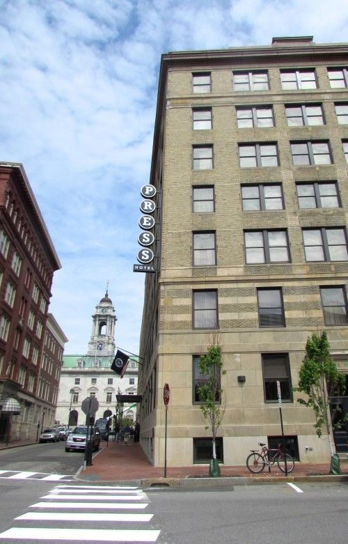 Portland Maine S First Boutique Hotel