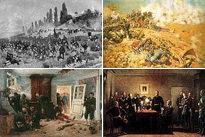 1870/71 La Guerra Franco-prusiana fue el conflicto más importante que se luchó en Europa desde las guerras napoleónicas y previo a la Primera Guerra Mundial y terminó con la completa victoria de Prusia y sus aliados