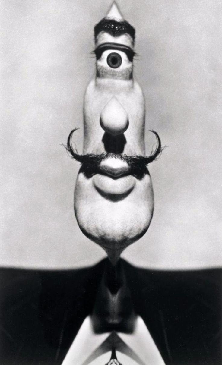 Philippe Halsman - Salvador Dali, Cyclope, 1954.