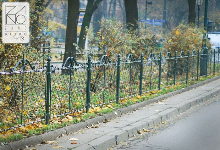 Those fences have elegant design that adapts to any surrounding or architectural style...