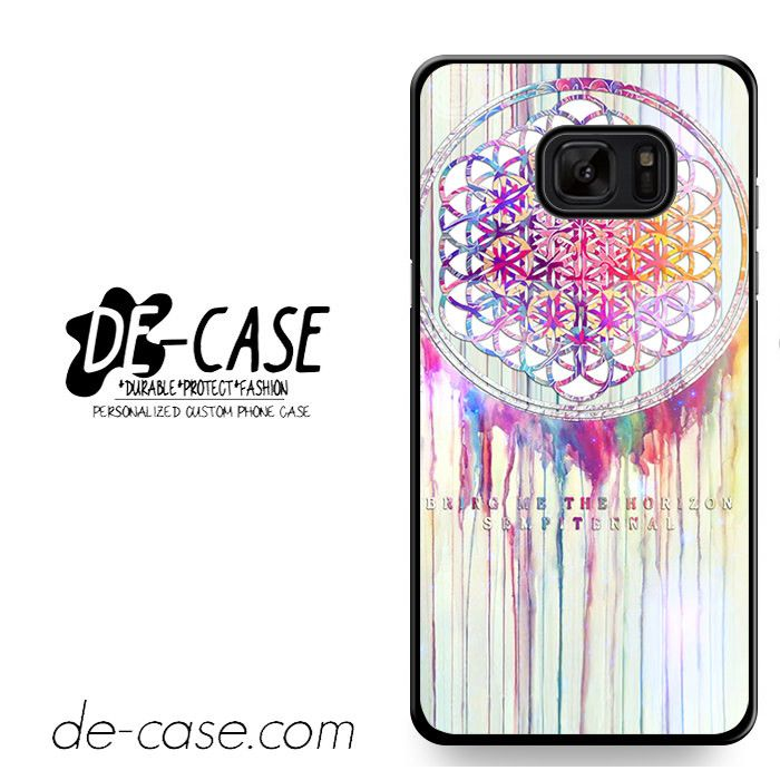 Bmth Sempiternal In Rainbow Watercolor Drop Bring Me The Horizon DEAL-1970 Samsung Phonecase Cover For Samsung Galaxy Note 7