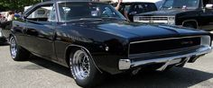 La Dodge Charger R/T 1968. C'est une voiture de film de Bullitt 1968 et Vanishing Point 1997