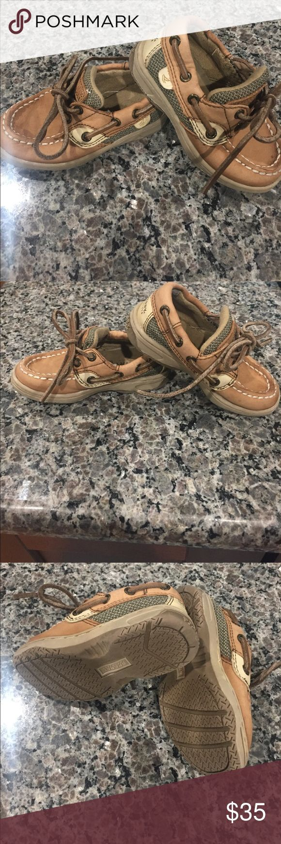 Toddler Sperrys Excellent Cond.  Size 6  Smoke Free Home  Hardly Ever Wore  Lots of Life to them  Sperry Shoes Sneakers