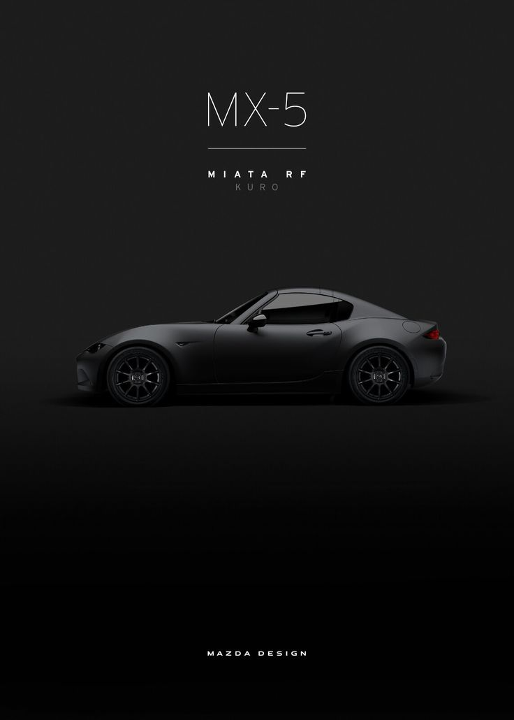 Mazda MX-5 RF Kuro #mazda #wallpaper #news