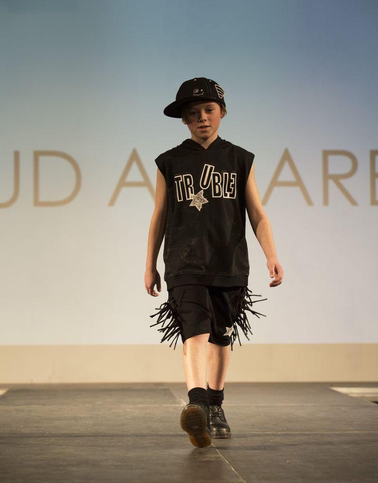 Loud Apparel rocking it on the catwalk for Kids Fashion Runway London #KFR2017 www.alegremedia.co.uk #alegremedia