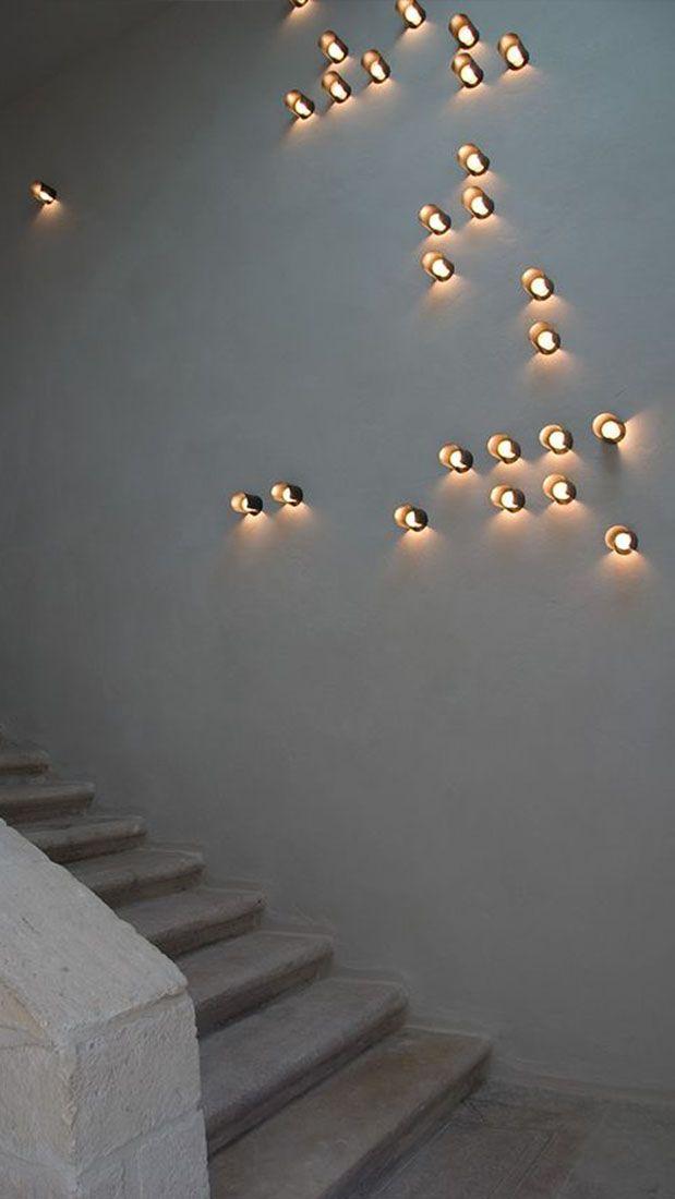 25 beste idee n over wandverlichting op pinterest wandlamp slaapkamer schansen en wand - Eettafel beton wax ...