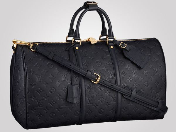 Louis Vuitton's Monogram Empreinte collection makes a comeback with the Keepall 45 Bandoulière