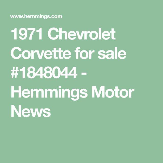 1971 Chevrolet Corvette for sale #1848044 - Hemmings Motor News