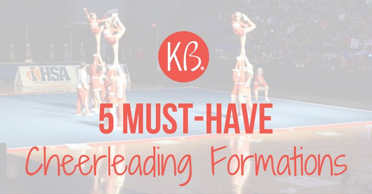 25+ Best Ideas About Cheer Formations On Pinterest