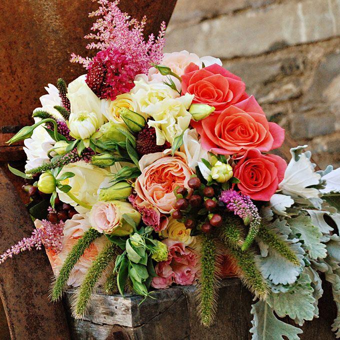Fall Wedding Flower Arrangement   Fall Wedding Bouquets : Wedding Flowers Gallery