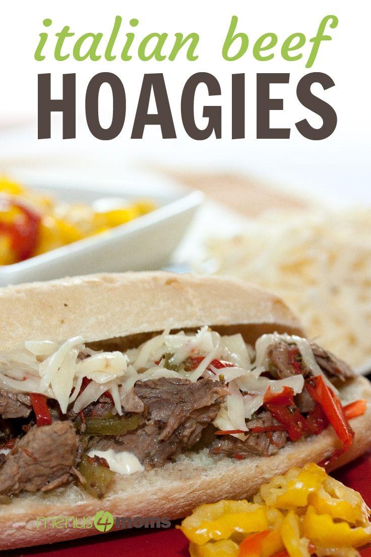 Italian Beef Hoagies Recipe Italian Beef Cooking Recipes London Broil Recipes