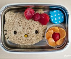 Hello Kitty Sandwich!