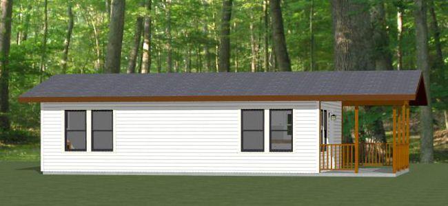 30x20 House 30x20h2b Garage Apartment Floor Plans Modern Style House Plans Tiny House Floor Plans