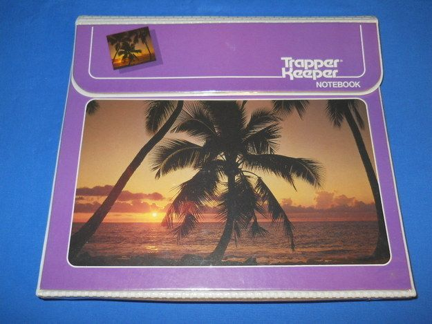 Trapper Keepers | 17 Retro School Supplies We Wish Were On Our Shopping Lists
