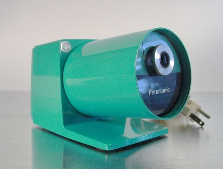 Midcentury industrial electric Pencil sharpener by Panasonic