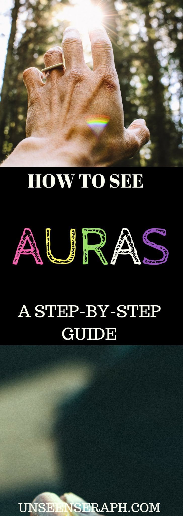 A step-by-step guide to seeing auras. Learn how to physically see auras, energies and spirits.