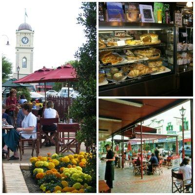 Many lovely cafes in Feilding
