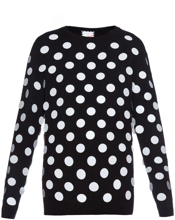 SAVE THE CHILDREN Christopher Kane X Poppy Delevingne sweater