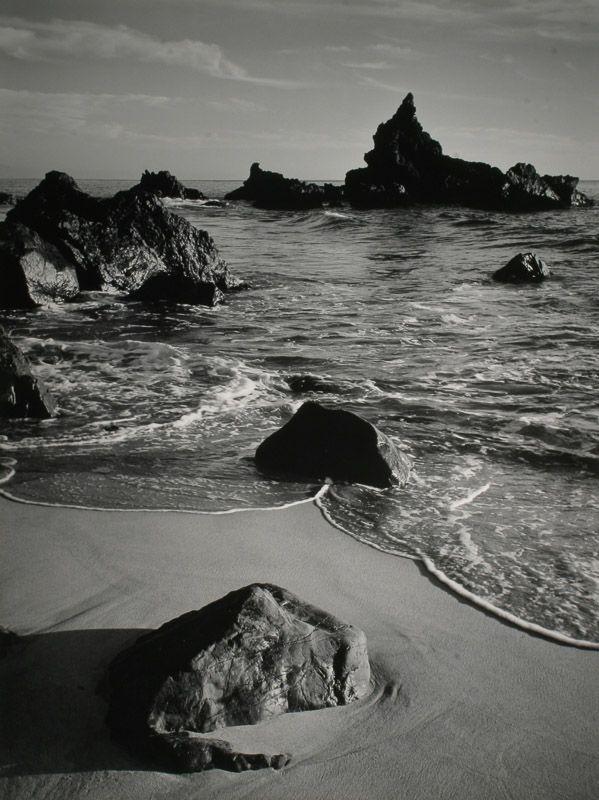Ansel Adams, Monterey, CA.