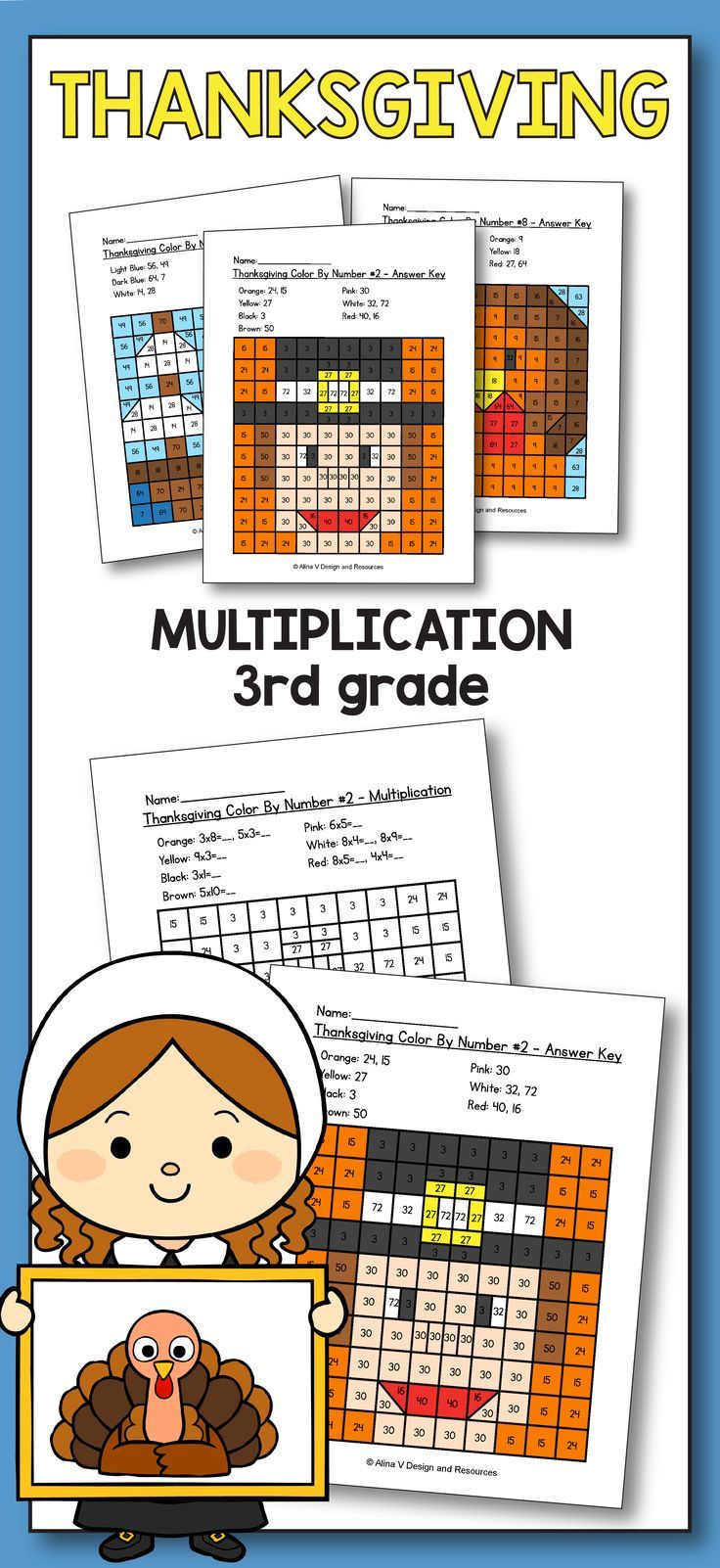 Thanksgiving Multiplication Color By Number Thanksgiving Math Worksheets Thanksgiving Math Worksheets Thanksgiving Math Thanksgiving Multiplication [ 1602 x 736 Pixel ]
