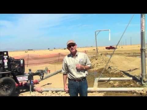 Water Solutions for Solar Energy Sites in Kern County, Ca #waterislife #Bakersfield #WaterWays