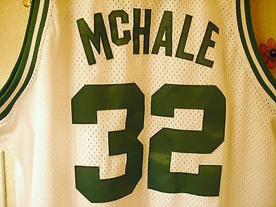 Celtics Kevin McHale NBA Jersey White Hardwood Classics Vintage 1985-1986 XL