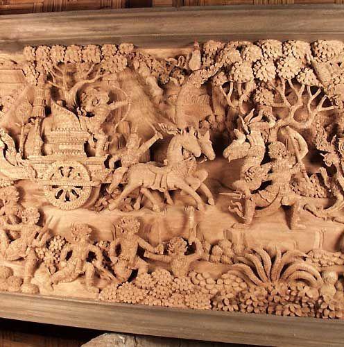 Wood Carving Arts Oriental Sculptures Oriental Carvings by WoodRoyal