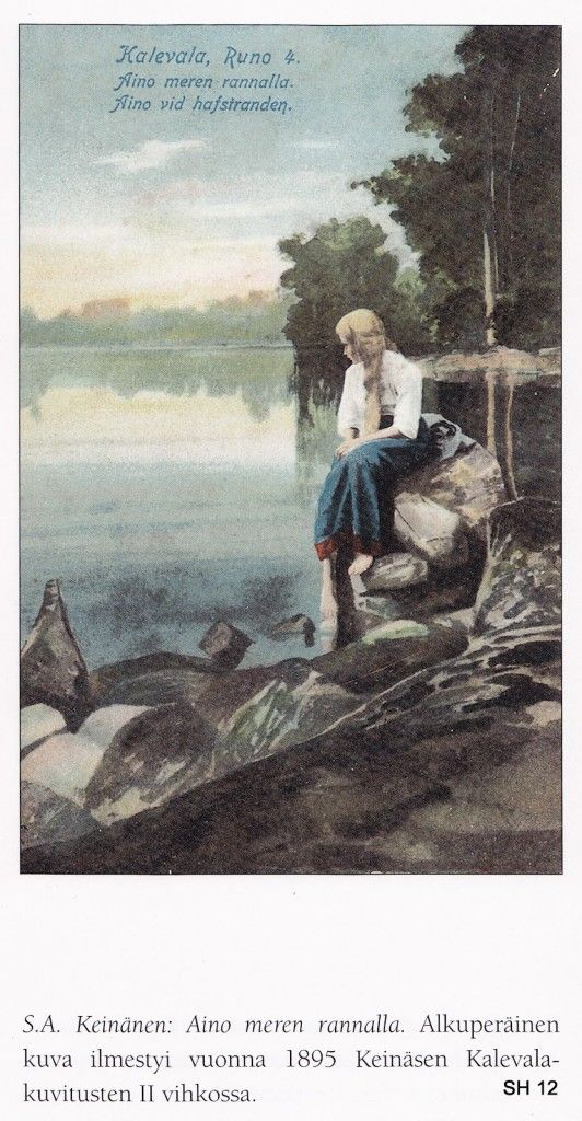 """The Life and Art of Sigfried August Keinänen -  IIllustrations for the Kalevala - """"Aino"""""""