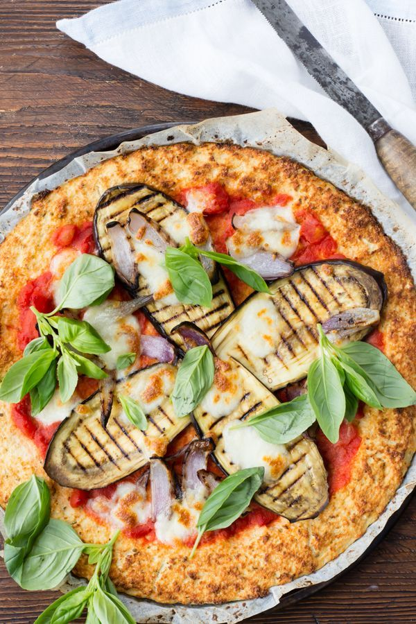 If you are gluten free, then this is the pizza for you. It makes the perfect dinner and the cauliflower crust is so tasty.