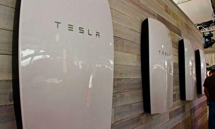 Four Tesla Powerwall 2 Tesla Powerwall Powerwall Tesla