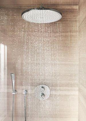 Тропический душ Grohe Rainshower без держателя, 400*400, хром  28778000