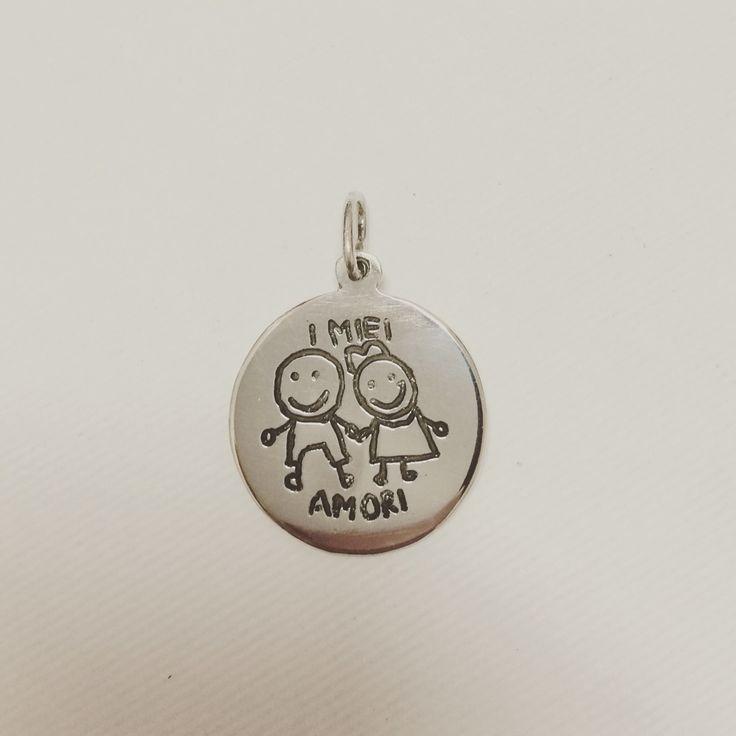 #medaglietta #pendente #cuore #argento #madeinitaly #artigianato # handmade #love #pato #patojewels #best #fascia #jewellery #jewel #gioiello #gioielli #amore #regalo