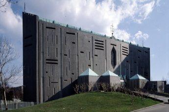 Chiesa di San Carlo Borromeo per l'Ospedale san Carlo in Via S. Giusto - Giò Ponti