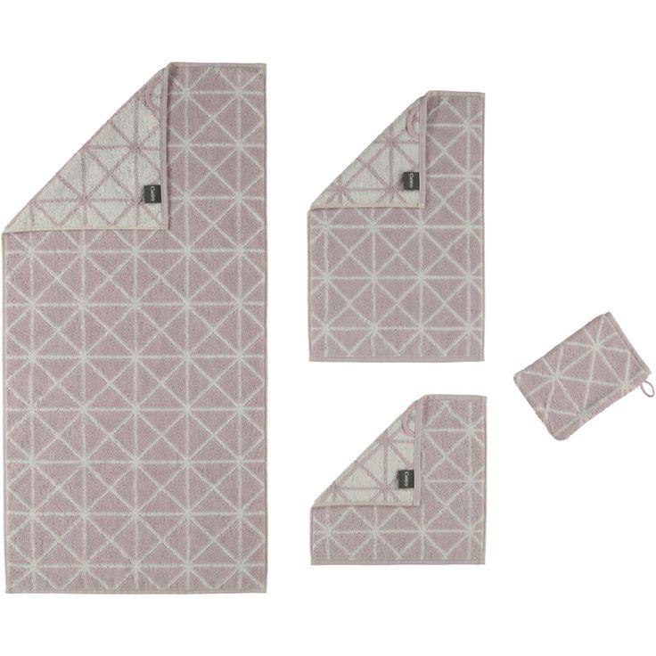 Cawö - Nordic Grafik 589 - Farbe: rosenquarz - 26 Handtuch 50x100 cm