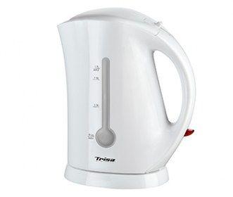 Bollitore Easy Boil Trisa 6430 da 1,7 litri - Vetrospia per controllo livello acqua.