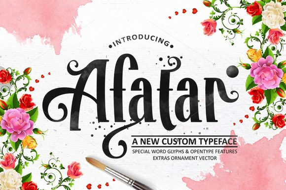 AFATAR by COB on Creative Market