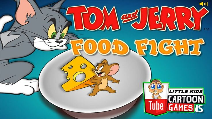 Fun Games. Tom and Jerry 2017. Tom and Jerry - Food Fight. Baby Games #L...