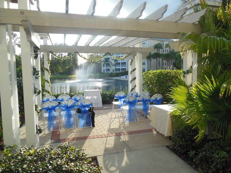 Renewing Your Vows Venue West Orange: Sheraton Vistana Villages Has Two Gazebos Suitable For