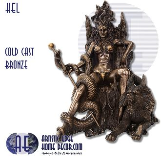 Hel : Bronze Figurines