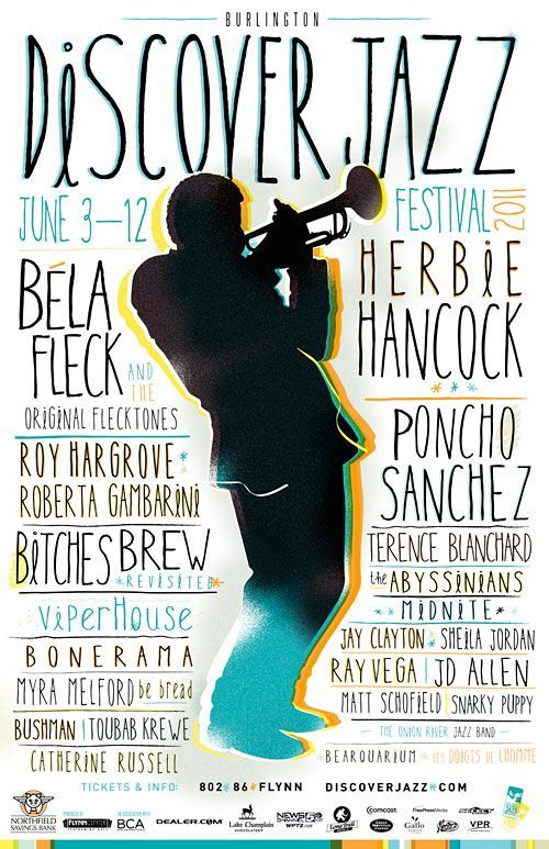 Discover Jazz festival poster