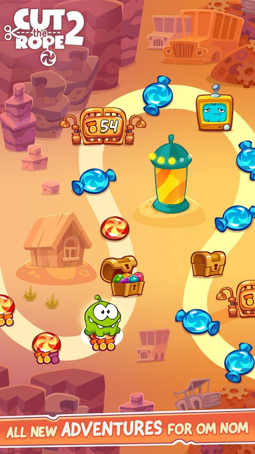 Cut The Rope 2 Arrives On Google Play
