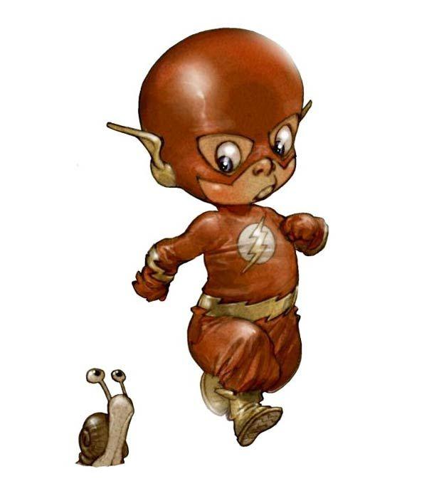"""""""Little Heroes"""", une série d'illustrations debébés super-héros imaginés par le talentueux dessinateur français Alberto Varanda ! Dans la lignée de la s"""