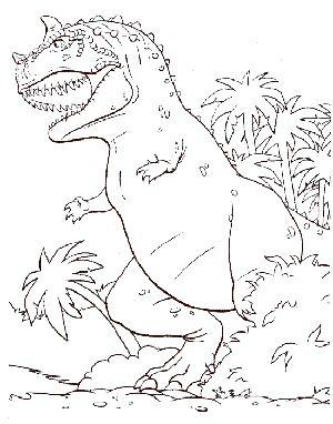 Dinosaurio Para Colorear Libro De Dinosaurios Para