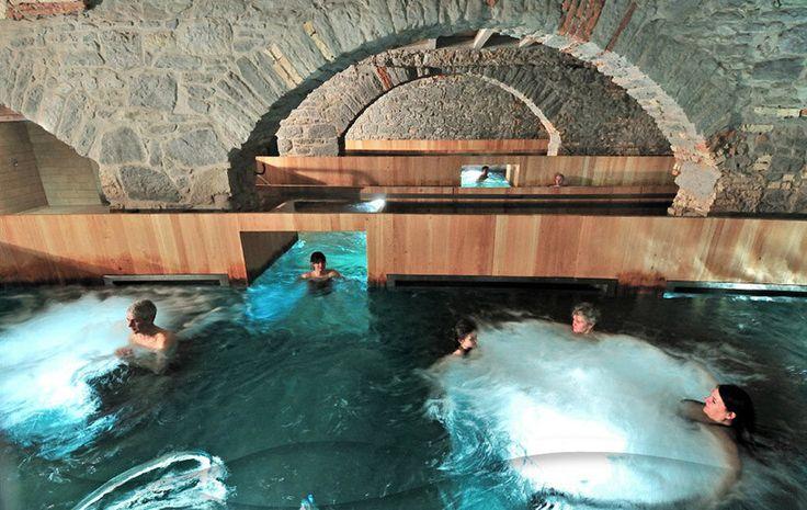 *취리히, 양조장을 온천과 스파를 위한 공간으로 hurlimann brewery in zurich is renovated into thermal bath + spa :: 5osA: [오사]