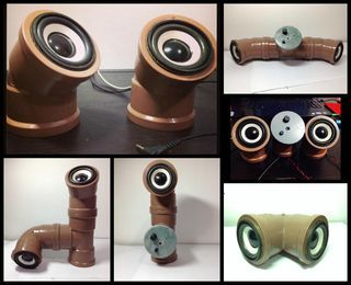 Picture of Speaker Pipe (Simple) #UP!